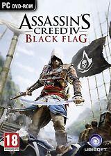Assassin's Creed IV: Black Flag (PC DVD) BRAND NEW SEALED