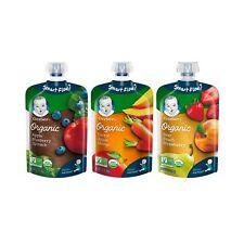 Gerber Organic 2nd Foods Baby Food, Fruit & Veggie Variety Pack 1, 3.5 oz Pou...