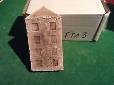 N Scale  low relief brick Factory Backdrop (4 Floors).   FTA3