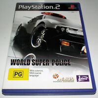 World Super Police PS2 PAL *Complete*