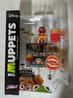 The Muppets Diamond Select ANIMAL with DRUMSET Figure
