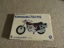 Entex Big Bike Series Kawasaki 750 RS 1:25 Scale Model Kit Complete Unbuilt