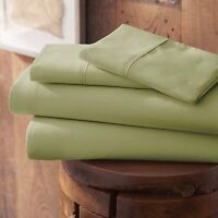 Premium Super Soft 4 Piece Bed Sheet Set - Six Summer Color's to Choose From!