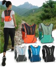Outdoor Running Vest Sport Backpack Hiking Hydration Pack Cycling + 1.5 Water Ba