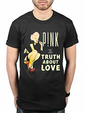 Official Pink Truth About Love NEW T-Shirt Fans Merch P!nk One Last Kiss You+Me