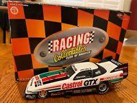 SIGNED JOHN FORCE 1993 CASTROL GTX OLDSMOBILE FUNNY CAR 1:24 ACTION DIECAST