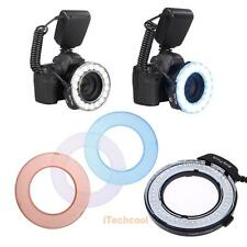 LED RF-550D Macro Ring Flash Light for Nikon Pentax Olympus DSLR Cameras