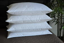 Special 4 Pack! Classic White Goose Down Feather Pillows Standard Size