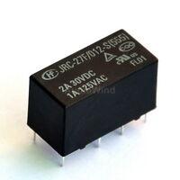 5PCS Signal Relays, 12V/0.2W, 2 form C (DPDT), 120V/1A