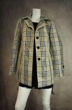 Designer Womens beige lightweight button up Rain coat Jobis Size 16