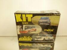 SOLIDO KIT 69K ALFA ROEMO ALFA SUD TROPHEE - METAL KIT 1:43 - UNBUILT IN BOX