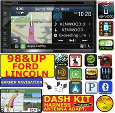 98 & UP FORD LINCOLN KENWOOD GARMIN NAV CARPLAY ANDROID AUTO BLUETOOTH  STEREO