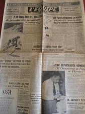 JOURNAL L'EQUIPE  CYCLISME JEAN ROBIC 1949 (A)