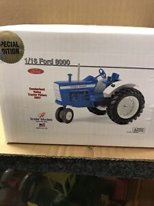 Ford 8000 Custom Tractor By Scale Model Part # Custom FX 1721