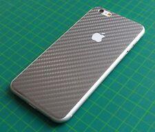 iPhone 6/6S Aufkleber /Sticker - Veredelung für Rückseite. 3D Carbon, Graphite.