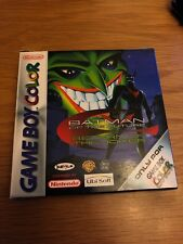 GAMEBOY  COLOR BATMAN OF THE FUTURE RETURN OF THE JOKER FREE POST UK