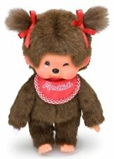 Sekiguchi Monchhichi S Size MCC Girl Wink Plush Twin Tail Doll 253000