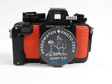 Nikon Nikonos V Orange Underwater Camera Body Only Very Good Condition