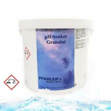 pH Senker Granulat / pH Minus Granulat - 5kg für Pool und Schwimmbad - Whirlpool
