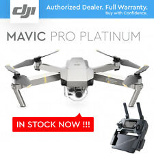 DJI MAVIC PRO PLATINUM w/ 4K Stabilized Camera, 30 MINS Flight, Noise Reduction