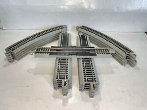 Bachmann Ho Scale Model Trains EZ Track Train Track Lot 21 Pieces In Ex Conditio