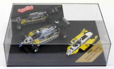 Voitures Formule 1 miniatures jaunes Brumm 1:43