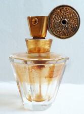 Flacon vaporisateur de parfum cristal BACCARAT (?) Art Deco bottle perfume