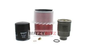 OIL AIR FUEL FILTER SERVICE KIT for MITSUBISHI L200 K74 2.5 4D56 1996-2006