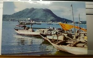 Vung Tau resort town, South Vietnam, Vintage Postcard color photo Mike Roberts
