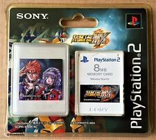 PS2 Super Robot Wars MX Carte Mémoire 8 Mo (2004) Brand New & Sony FACTORY SEALED