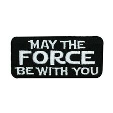 Disney Star Wars May The Force Be With You Patch Officially Licensed Iron-On