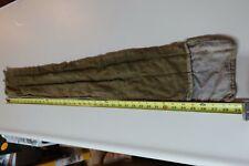 Vintage Cloth Rod Sock Fishing Pole Bag Protection Lot 3