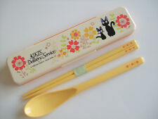 Kiki's Delivery Service Jiji Kawaii Chopsticks & Spoon Set/Made in Japan