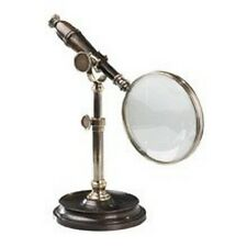 Authentic Models Ac099E Magnifying Glass in Bronzed with Stand - Ac099E, New