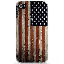 Coque Housse Etui Apple iPhone 4 / 4S silicone gel motif USA Hood