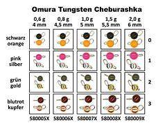 Tungsten Cheburashka poids Plain Sinker Perche Zander Brochet Truite Poisson Carnassier