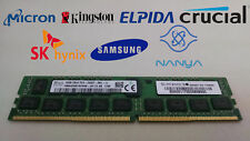 Lot Of 2 16GB DDR4-2400T PC4-19200 2Rx4 DDR4 Sdram 1.5V Memoria Servidor