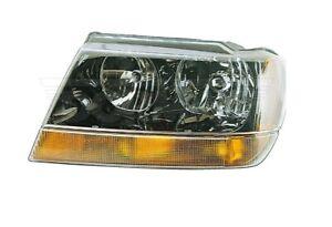 For Jeep Grand Cherokee 1999-2004 Driver Left Headlight Assembly Dorman 1590318