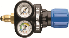 Cigweld COMET EDGE REGULATOR Argon/CO2 Twin Gauge, 5/8 Inch RH Inlet & Outlet