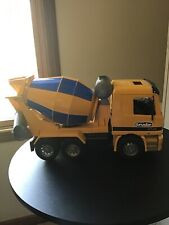 BRUDER Cement Mixer Mercedes Actros 4143 Truck Construction Vehicle Yellow Blue