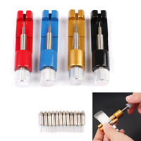 Metal Adjustable Watch Band Strap Bracelet Link Pin Remover Repair Tool Kit Set`