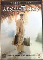 Un Militar Story DVD 1984 World War II 2 Raza Drama Película de Cine Clásico