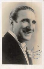 POSTCARD  BAND LEADER BILLY MERRIN (SIGNED)