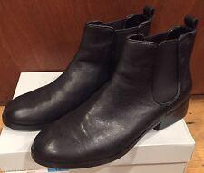 NIB Cole Haan Women's Landsman Bootie Leather Ankle Boot Black 10