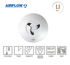 Airflow Icon 15S Eco 72683701 12V Bathroom Extractor Wall Ceiling Mounted Fan
