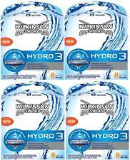 32 Rasierklingen, Ersatzklingen Wilkinson Sword Hydro 3 ! TOP PREIS !
