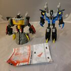 Transformers Energon Grimlock And Swoop Hasbro 2004 Loose  With Instructions For Sale