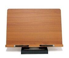 Wiztem Jasmine Book Stand Portable Wooden Reading Holder Desk Bookstand CA