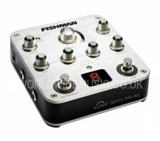 Fishman Aura Spectrum DI + EQ, compressore, un FeedBack Soppressione, Tuner & FX LOOP