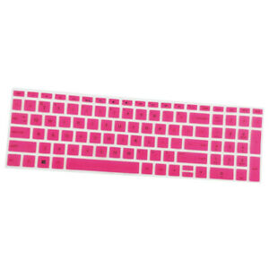 Silicone Keyboard Skin Protector Cover for HP 15.6''BF Laptop, Pink